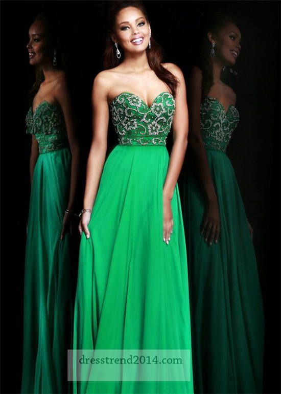 emerald green vintage prom dress - Google Search