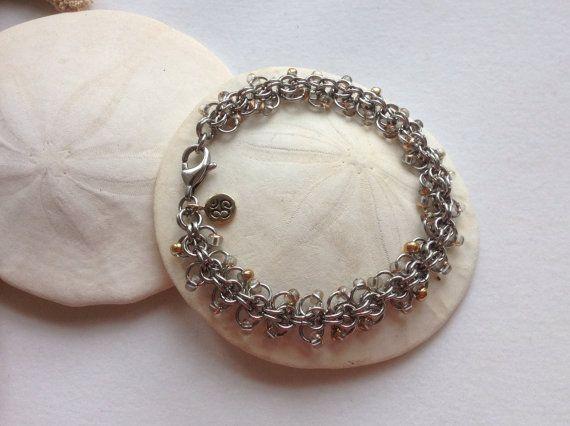 Spring Shimmer Bracelet Florence Style 14k by JewelrybySacredArt, $55.00
