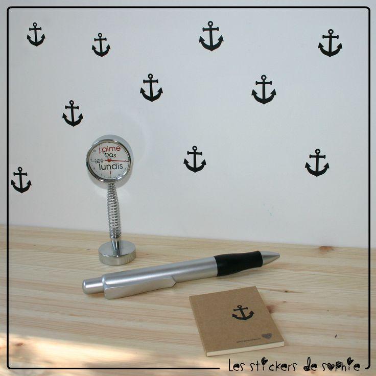 Stickers Ancre Marine - Ancre de Bateau
