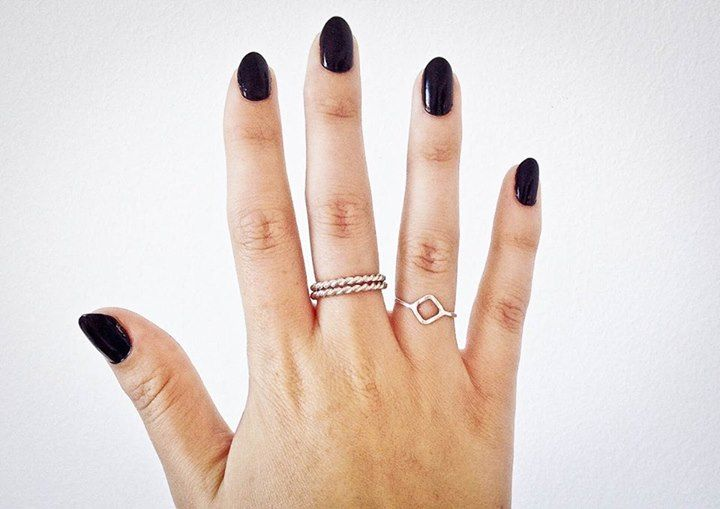 I'm super in love with my new twisted band rings House of Kallie! heart emoticon