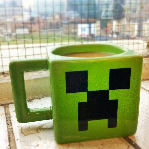 Minecraft Creeper Mug | Community Post: 15 Incredibly Unique Minecraft Toys That'll Take Your Geekiness To New Levels