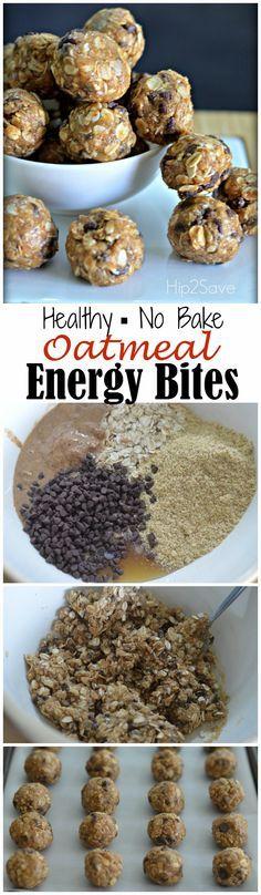 Oatmeal Energy Bites | Jodeze Home and Garden