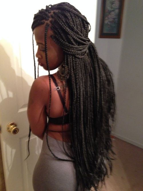 Plus de 1000 idEes ? propos de Long box braids sur Pinterest
