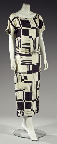 Afternoon dress 1924 (attributed to Poiret)