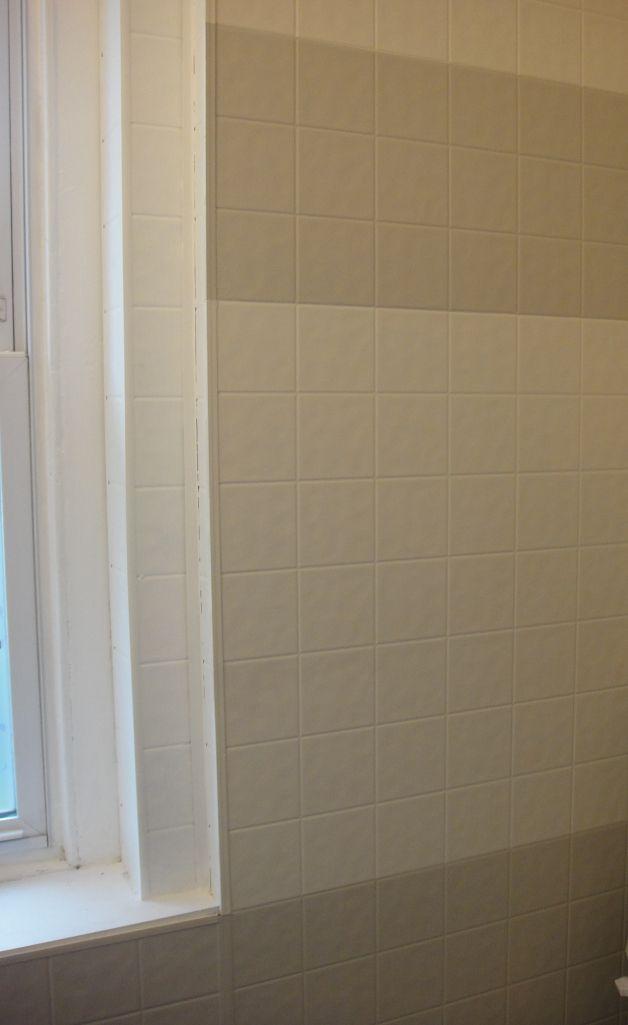 Bathroom Mini Renovation Part 4 Painting Tile Board Painting Bathroom Tiles Painting Tile Plastic Tile