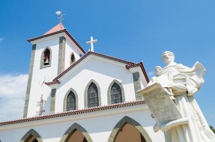 church in dili, east timor, timor leste