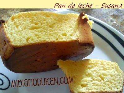 Pan de leche, http://midiariodukan.blogspot.com/2010/12/recetas-pan-de-leche.html