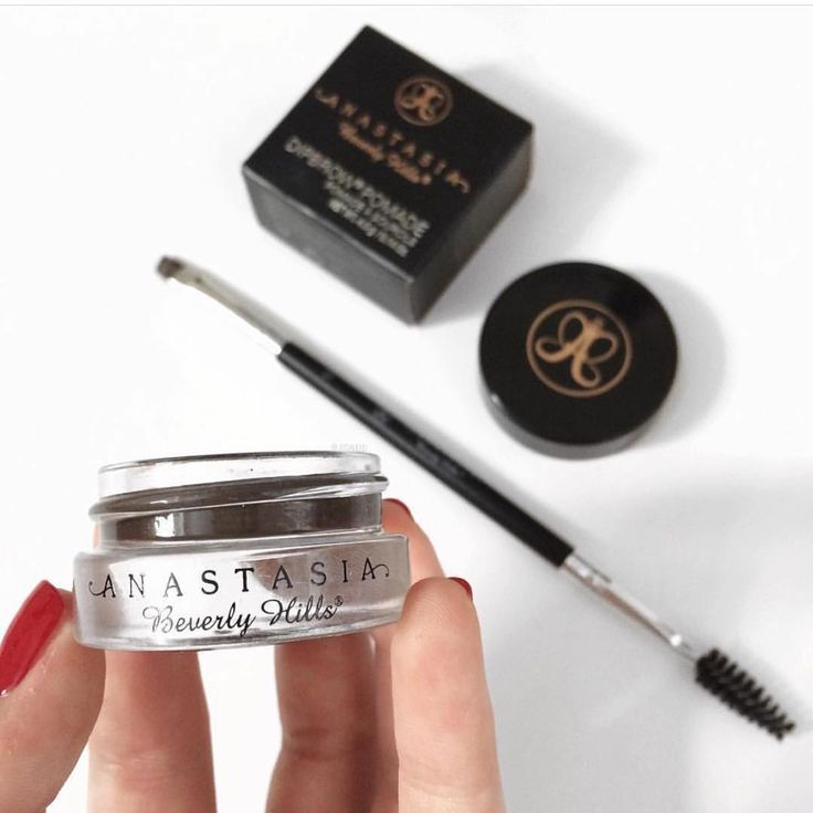 Anastasia Beverly Hills | Dipbrow Pomade & Angled Duo Brush in #12 - New Eyebrow Products