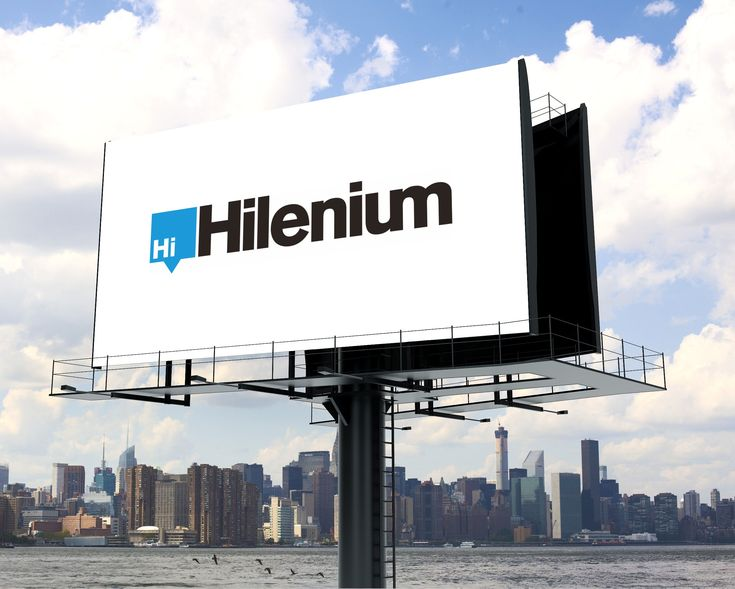 Past Project: Hilenium is a website first hosting provider. Unlike traditional hosts, a fast server is just one part of having a hi-performing website. #logo #branding #design #Hilenium