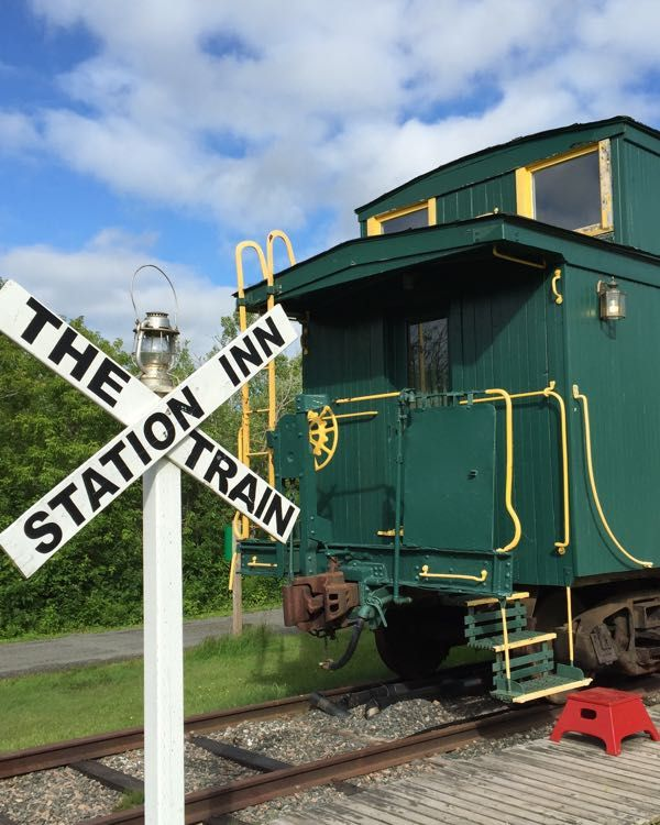 A visit to the family friendly Train Station Inn- a unique hotel in Tatamagouche, Nova Scotia where you and your kids can sleepover in a caboose.