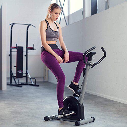 Diversión en el deporte – Con esta bicicleta estática le encantará mantener su cuerpo en forma. Hace trabajar muchos músculos de su cuerpo, entrenando en especial y de manera eficiente los músculos de las piernas. También favorece el buen funcionamiento del sistema cardiovascular, entre... http://gimnasioynutricion.com/tienda/bicicletas/estatica/tectake-maquina-fitness-bicicleta-estatica-monitor/
