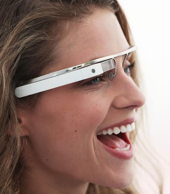 Google's heads-up display glasses