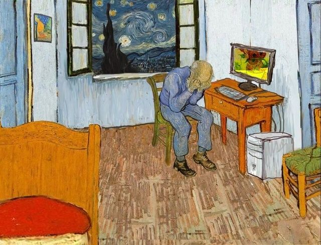 31 best images about Art Parody Bedroom in Arles on