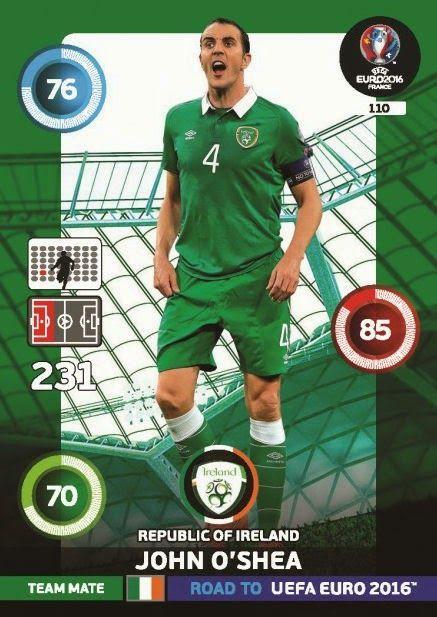 Football Cartophilic Info Exchange: Panini - Adrenalyn XL Road to UEFA Euro 2016 (04) - Checklist