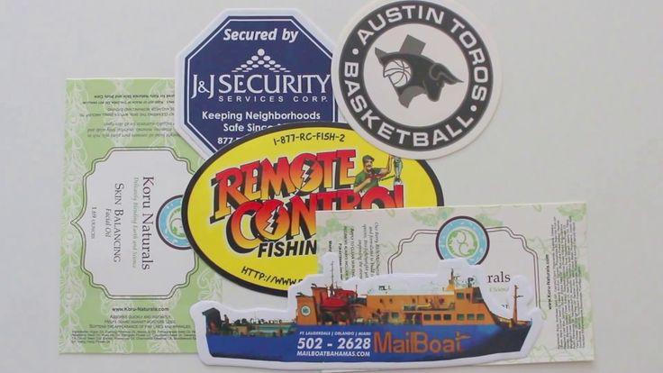 Custom Stickers Printing, Vinyl & PVC Stickers, Die Cut Stickers | Print...
