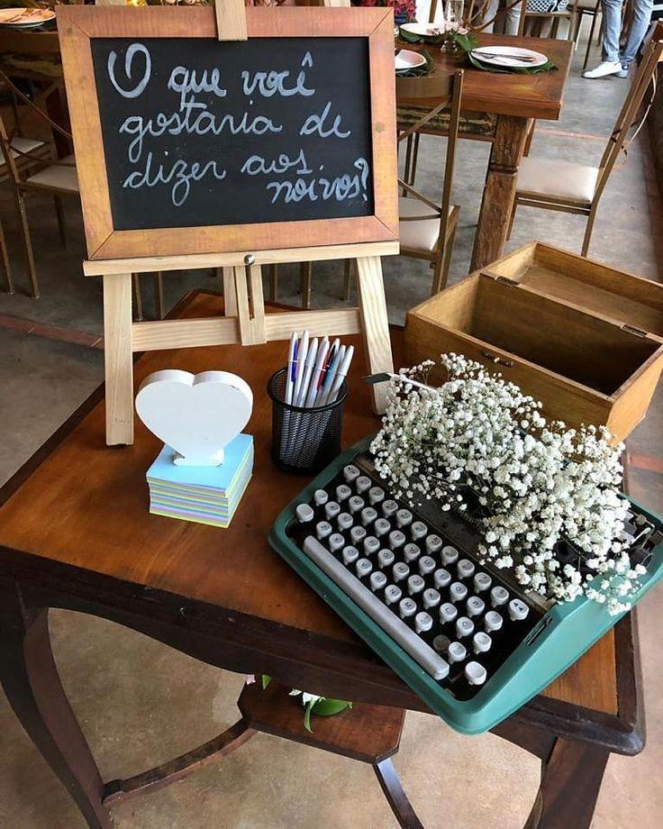 Decoração de casamento rústico: 70 fotos e idéias apaixonadas   – cas