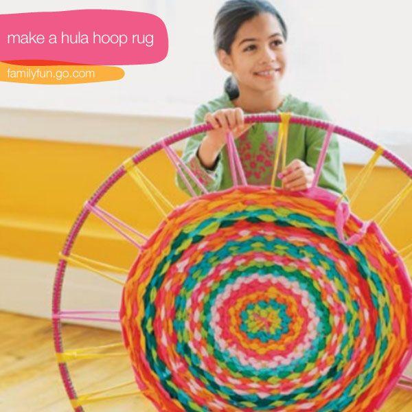 Hula Hoop T Shirt Rug Instructions Easy Video Tutorial | Flickor, Guider  Och Loom