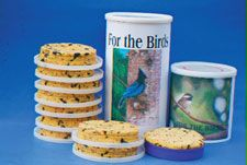 tunacanshape ;http://birding.about.com/od/birdfeeders/a/simplesuet.htm birdsand blooms site doesn't find recipe