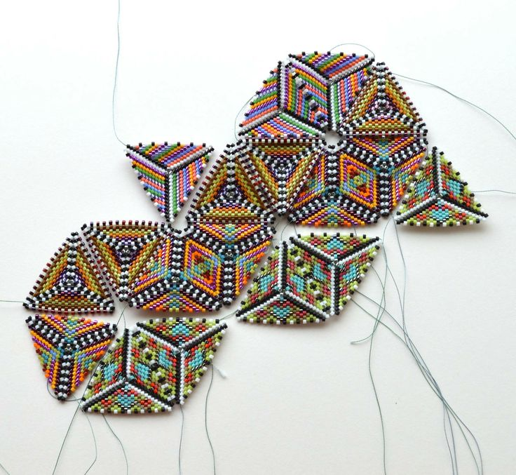 17 Best images about Beaded Kaleidocycle on Pinterest