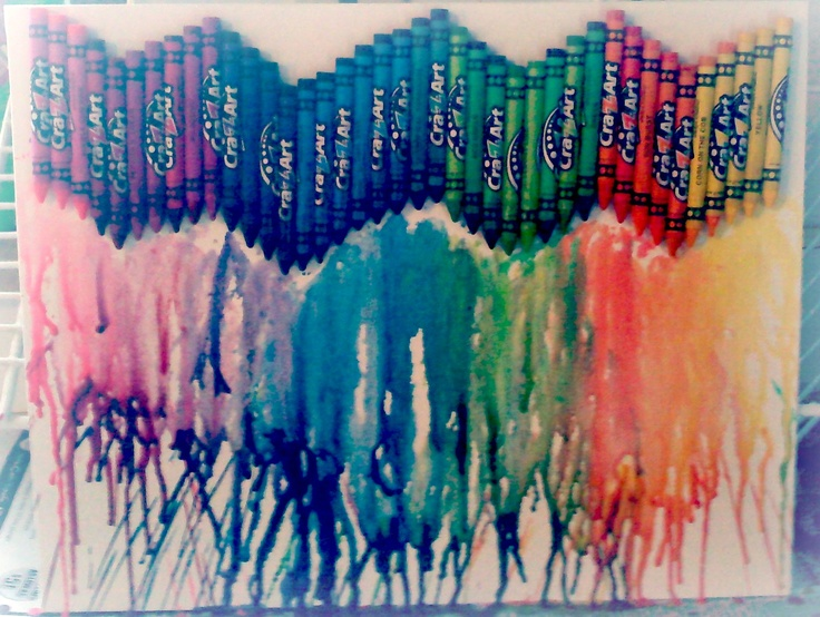 28 best images about my style on pinterest weight loss for Melted crayon art techniques