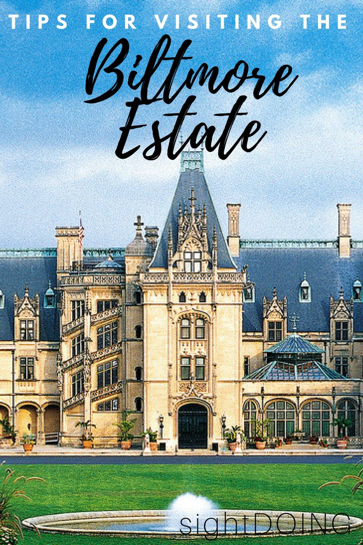 The Biltmore Estate is Asheville NC is a must do!  This North Carolina icon is full of history, beautiful architecture, and incredible gardens.  But it's expensive and time-consuming, so use these tips to make the most of your visit!