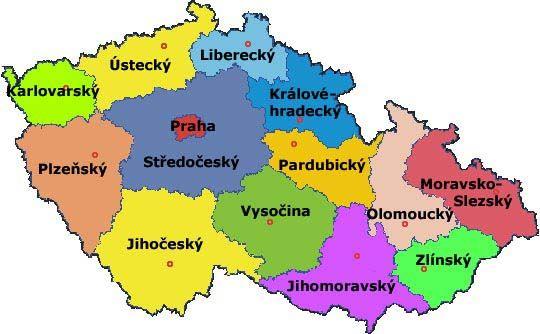 kraje a krajská města - Hledat Googlem