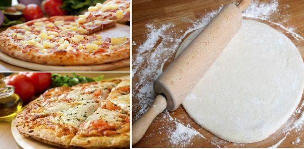 como se hace la pizza en casa