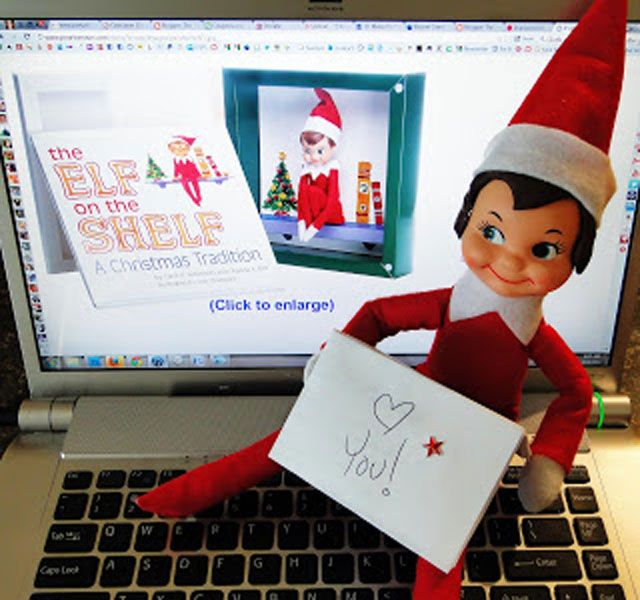 Make a fun paper doll style felt Elf on the shelf doll for your kids to play with. The free printable template is included for this easy, fun project.