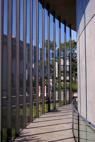 Shiba Ryotaro Memorial Museum. Higashiosaka, Japan. 2001. Tadao Ando