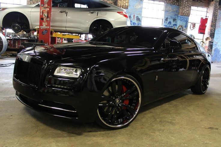 rolls royce wraith with vellano wheelsno limit inc in