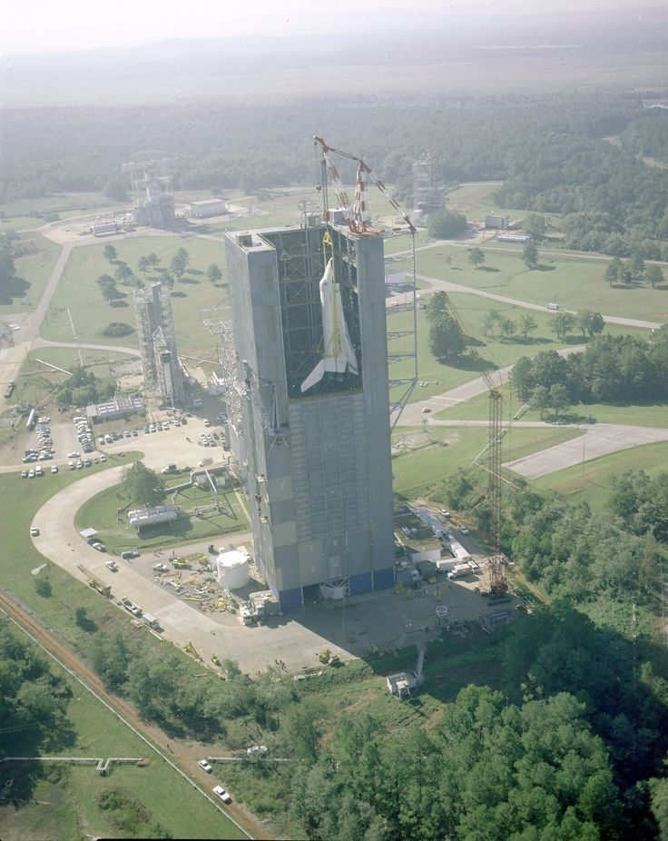 Space Shuttle Enterprise being hoisted into a test chamber, 1978.: Spaces Shuttle, Enterpri Lifted, Angel Cards, Marshalls Spaces, Shuttle Enterpri, Flight Center, Test Chamber, Spaces Flight, Test Stands
