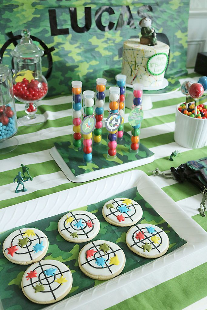 Paintball Birthday Party - Darling Darleen   A Lifestyle Design Blog