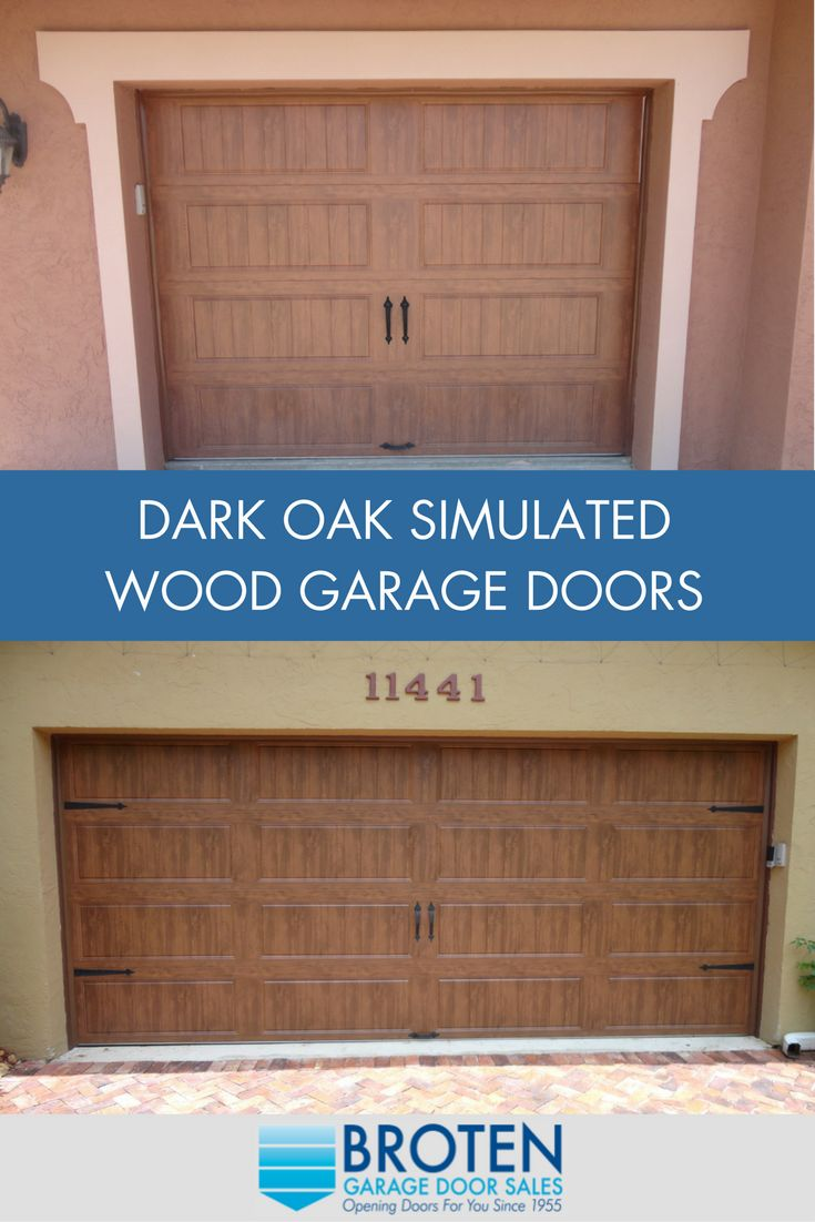 7 best simulated wood garage doors images on pinterest for Best wood for garage doors