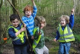 Forest school #Forestschool WIld Foresters have teamed up with Little Badgers, who also operate Forest School sessions from Wraxall Piece woodland.
