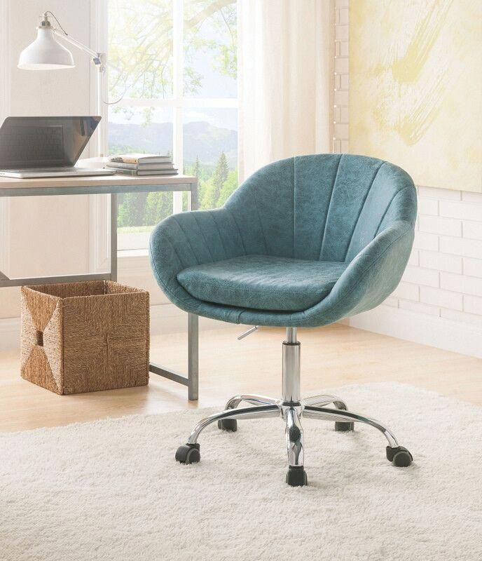 Half Shaved Hairstyles For Women Bluevelvetdiningchairs Product Id 3859900884 Meshofficechair Leather Office Chair Stylish Office Chairs Swivel Office Chair