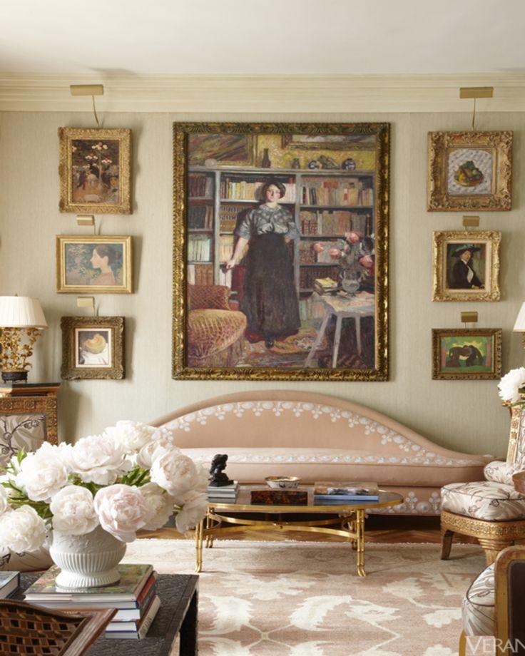 Fine Art Filled Park Avenue Apartment