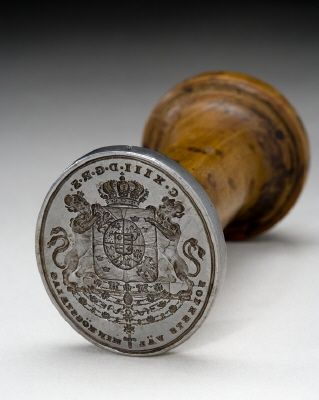 Courtesy of the Royal Armoury// Sigillstamp för Karl XIII av Sverige (1748-1818) 1809-1814. / Seal Stamp for Karl XIII of Sweden (1748-1818) from 1809 to 1814.