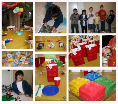 Lego party ideas...