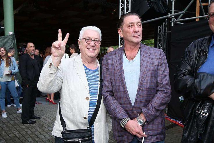 Владимир Винокур и Григорий Лепс.
