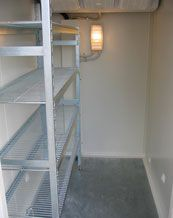 WE offer a choice of sizes of coolrooms and freezers to suit your needs.