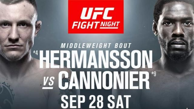 Video Ufc Copenhagen Hermansson Vs Cannonier Predictions Preview Betting Odds Srs And Showdown Joe Make Via Www Fightful Co Ufc Ufc Fight Night