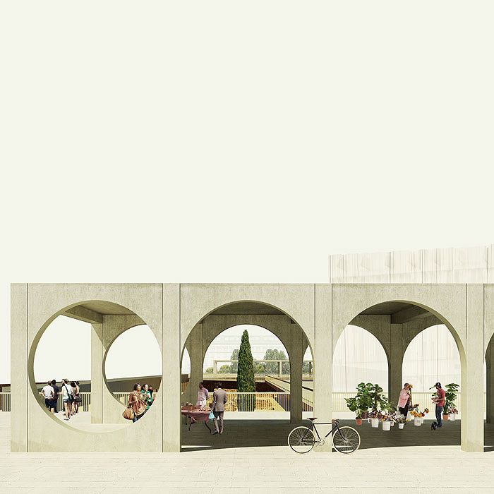Agora | Proposal for Plovdiv Square, Pedro Duarte Bento 2014.