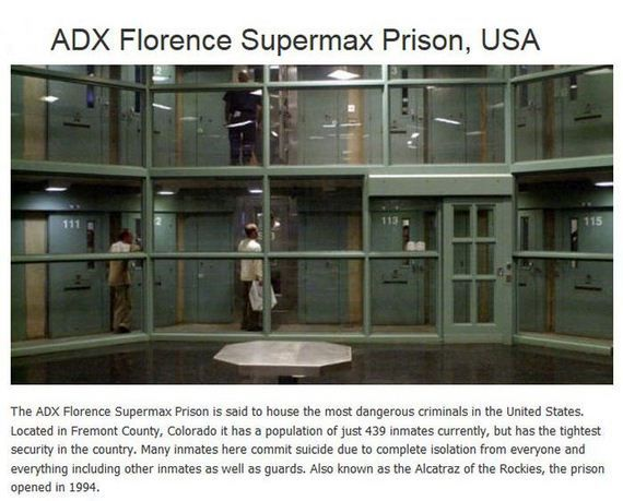 14 Best Images About Adx Florence Supermax Co On