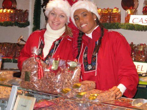 Weihnachtsmarkt im Göteborger Vergügungspark Liseberg