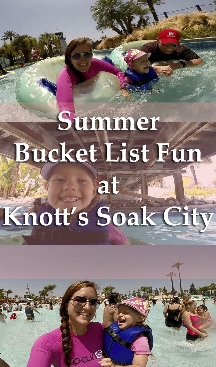 Summer Bucket List Fun at Knott's Soak City, California