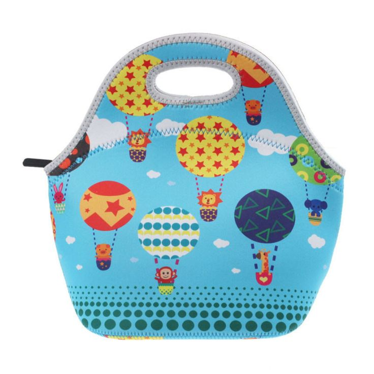 New Fashion Hot Thermo Thermal Insulated Neoprene Lunch Bag Women Kids Lunchbags Tote Cooler Lunch Box Insulation Bag