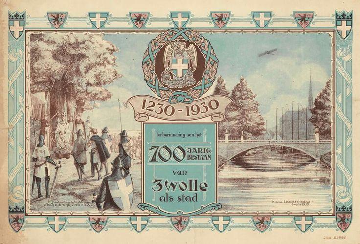 1930. Zwolle bestaat 700 jaar als stad.