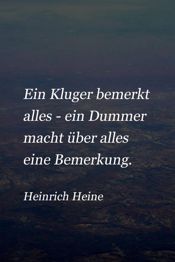 Zitat von Heinrich Heine über die Menschen – #die #Heine #Heinrich #Menschen #…