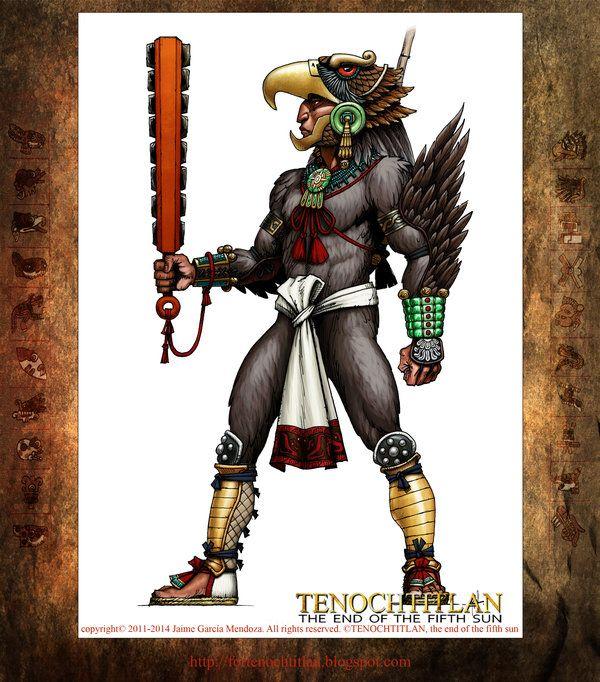 Resultado de imagen para guerrero aguila