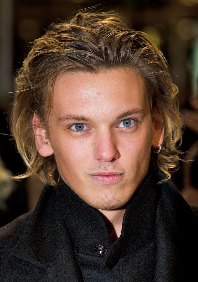 Pictures of Men's Long Hairstyles: Jamie Campbell Bower's Long Wavy Hair